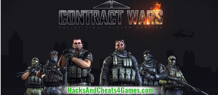 Взлом Contract Wars Читы на Деньги (GP Gold Points)