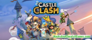 Castle Clash Взлом (Чит Коды) на Кристаллы (Гемы), Золото