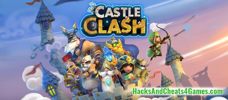 Castle Clash Взлома на кристаллы гемы и золото