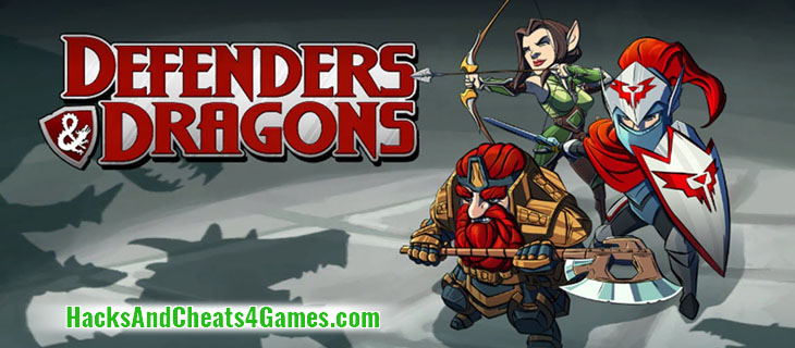 Defenders & Dragons Читы и Взлом на Android iOS