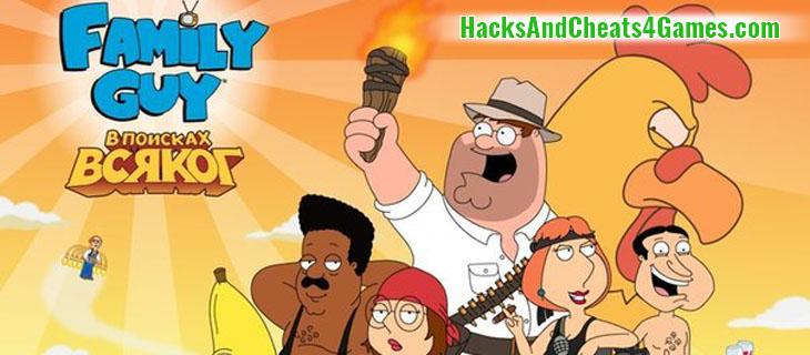 Взлом Family Guy: В Поисках Всякого (читы …
