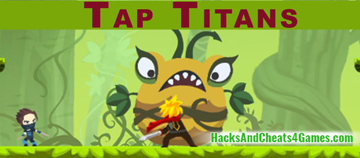 Tap Titans Взлом на Алмазы Кристаллы и Деньги