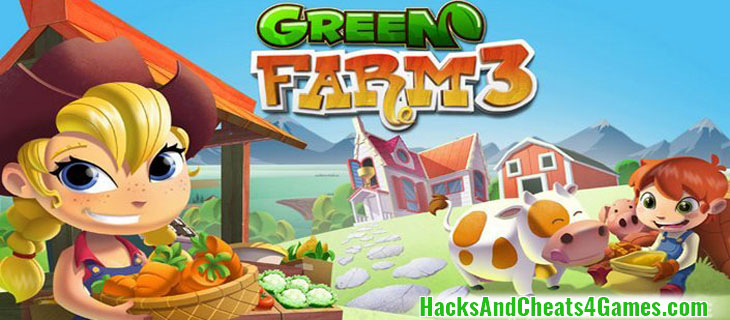 Green Farm 3 Зеленая Ферма 3 Взлом на Деньги и Монеты