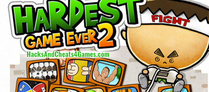 how to cheat at hardest game ever 2