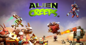 Alien Creeps TD Взлом на Кристаллы и Золото Читы