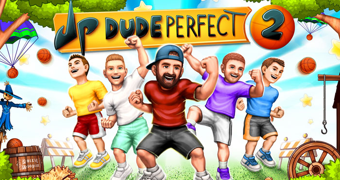 Dude Perfect 2 Взлом на Золото и Деньги