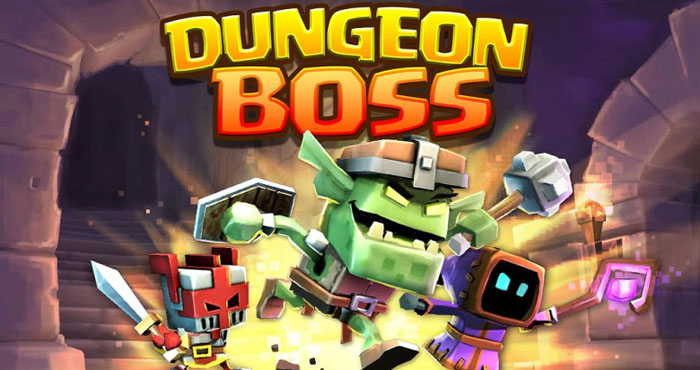 Dungeon Boss Взлом на Алмазы и Золото
