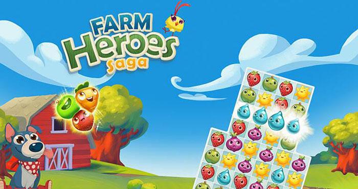 Farm Heroes Saga Взлом на Золото и Бобы