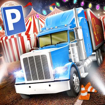 Circus Trucker Parking Sim АвтомобильГонки ИгрыБесплатно Взлом для iOS. Читы на Android