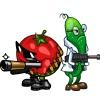 Овощные войны скачать игру